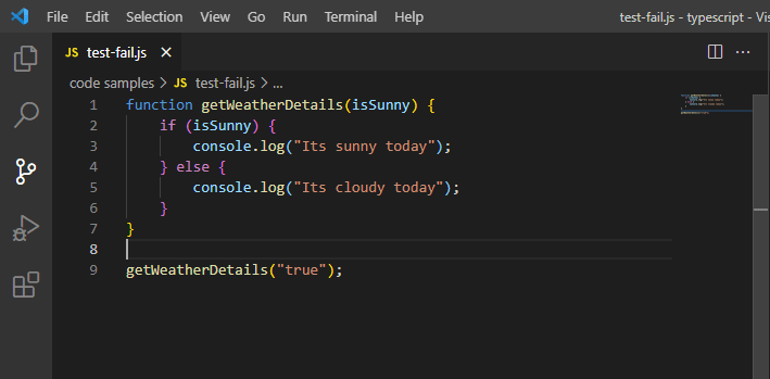 JavaScript Debug