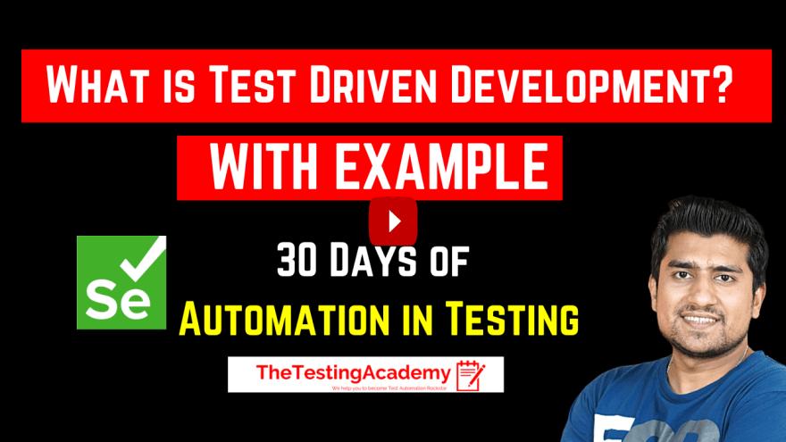 TDD (Test Driven Development)