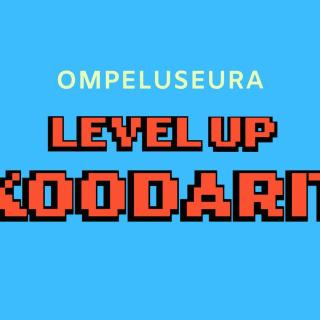 Ompeluseura LevelUP Koodarit logo