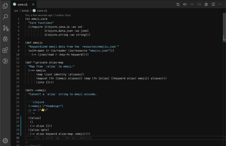 Minimal VS Code theme