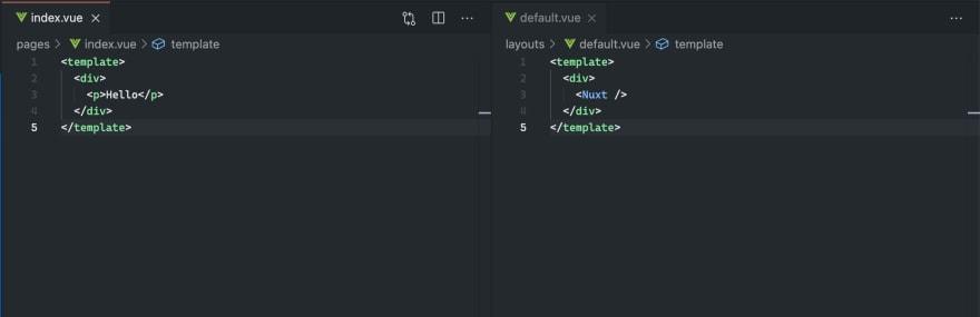 Nuxt.js project