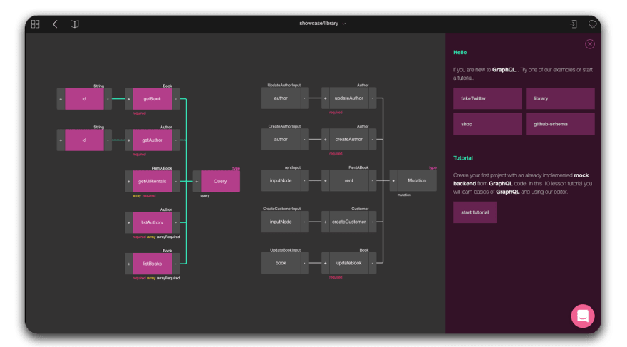Low-code GraphQL Editor