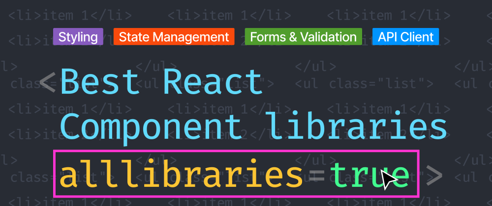 Cover Image for Every React Developer should know these libraries
