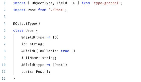 TypeGraphQL1