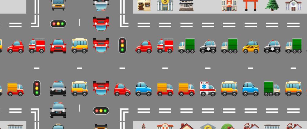 Cover image for Emoji traffic jam generator!