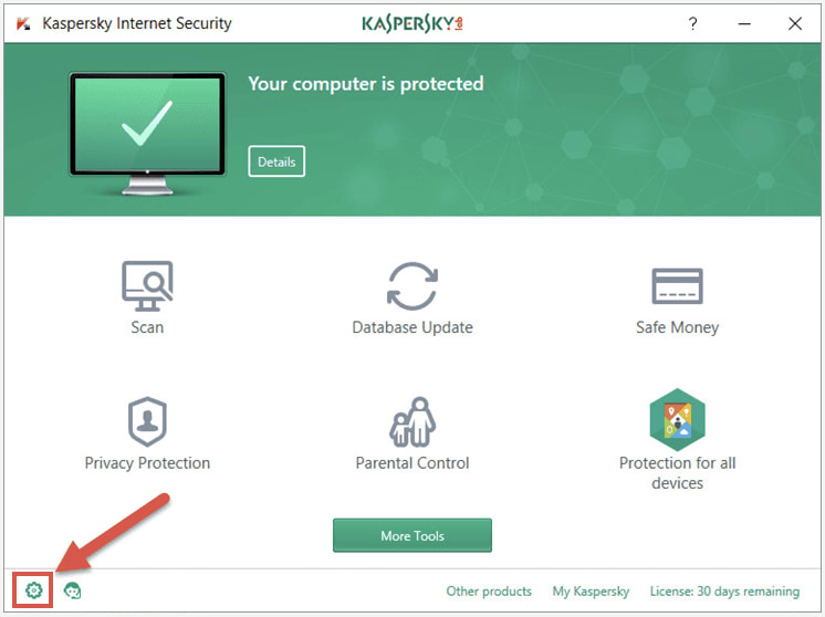 Quarantine and exclusions settings in products by Kaspersky