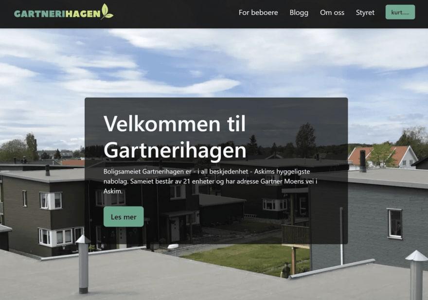 The front page of gartnerihagen-askim.no