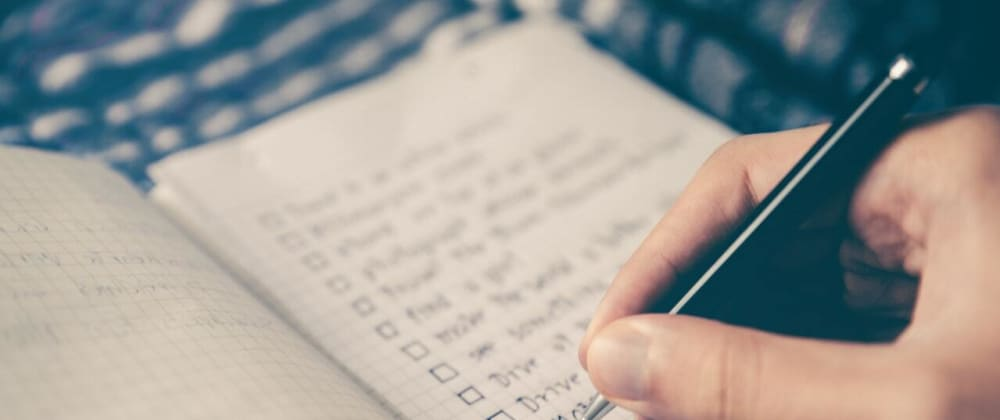 Cover image for How Checklists Can Help You as a Developer