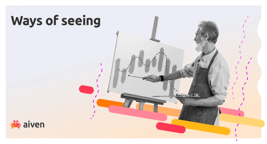 Image of a painter drawing a graph