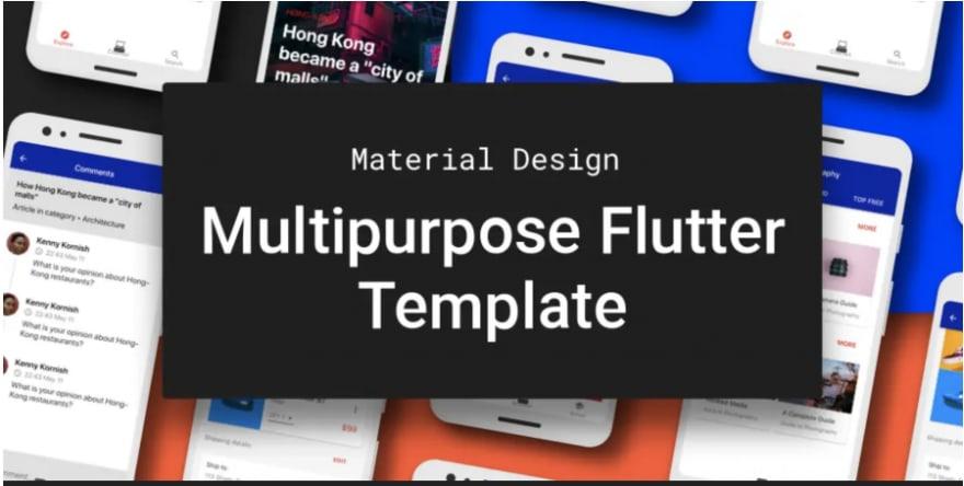 Multipurpose Flutter Template