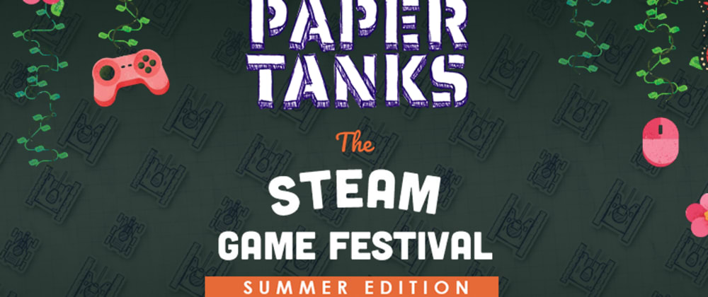 Cover image for My game is now at the summer festival Steam