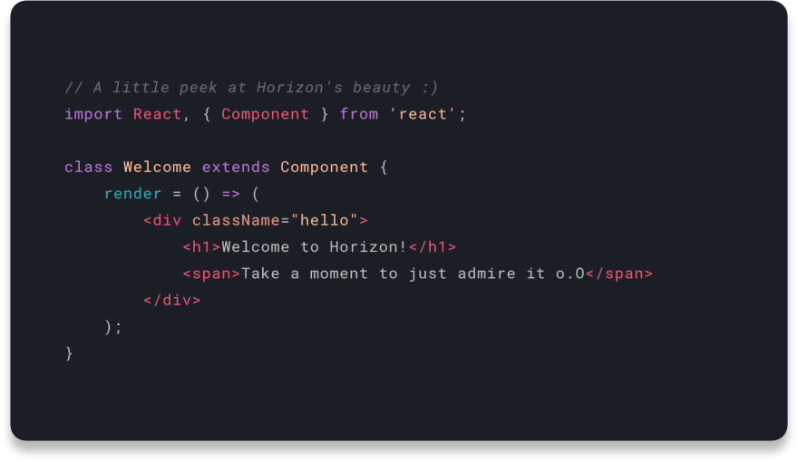 Horizon for VS Code