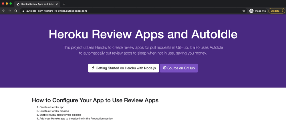 Cover image for How to Create Review Apps on Heroku