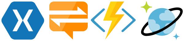Xamarin, Notification Hub, Functions, Cosmos DB