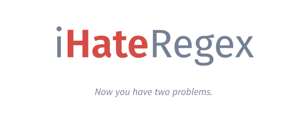 Cover image for Looking for contributors for iHateRegex.io <3