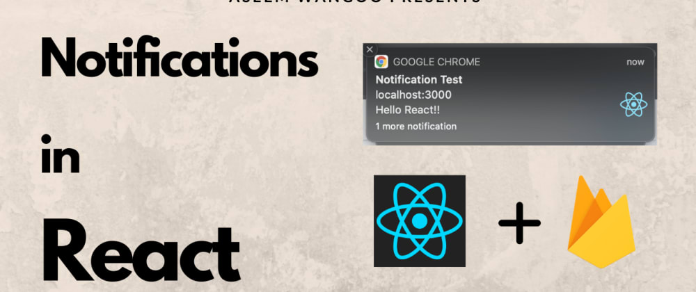 Cover image for Show push notifications in React