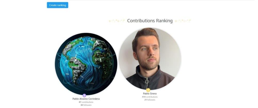 Cover image for Ranking Github: Developer creates simple github commit ranking 🤞