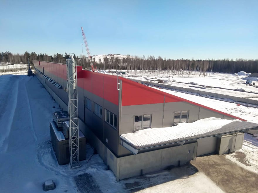 Hetzner Helsinki Datacenter