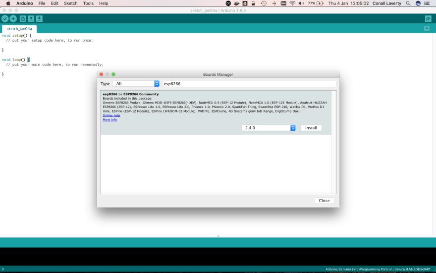 Publish an Event with ESP8266 to Wia via CoAP API - DEV Community