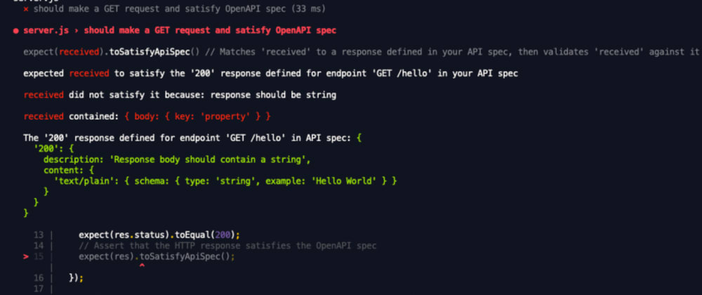 Cover image for How to use the Open API and Swagger Validator plugin for Chai and Jest to keep your API documentation up to date