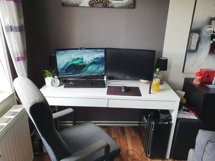 my small desk