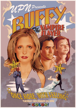 Once More with Feeling, Buffy the Vampire poster