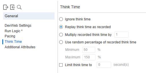 Think Time in DevWeb