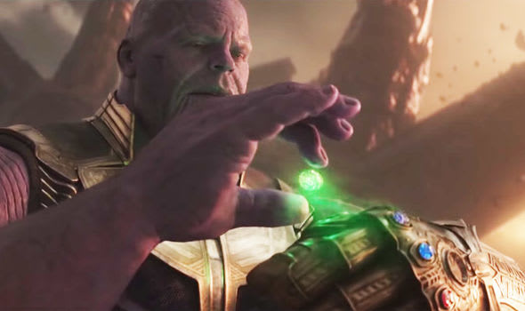 Thanos joining two stones