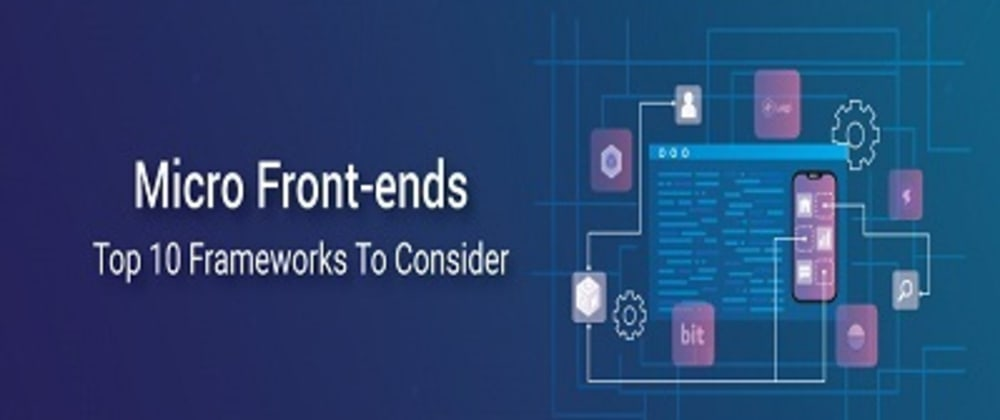 Cover image for Micro Frontend Deep Dive – Top 10 Frameworks To Know About