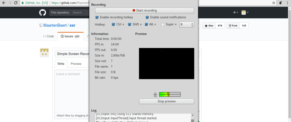 Cover image for Fixed: Simple Screen Recorder records sound only with a black screen - Fedora 32/30/31