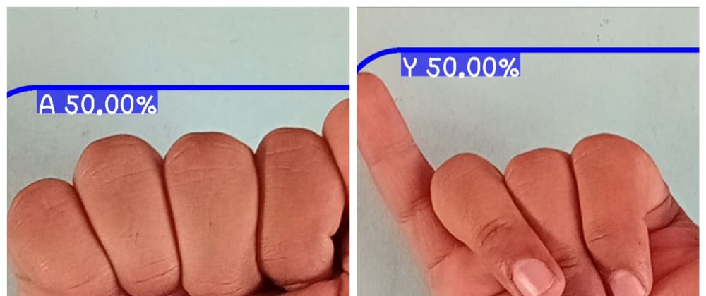 Cover image for Real-time sign language detection android application using TensorFlow lite
