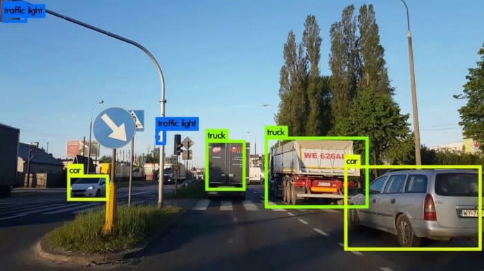 Object detection example