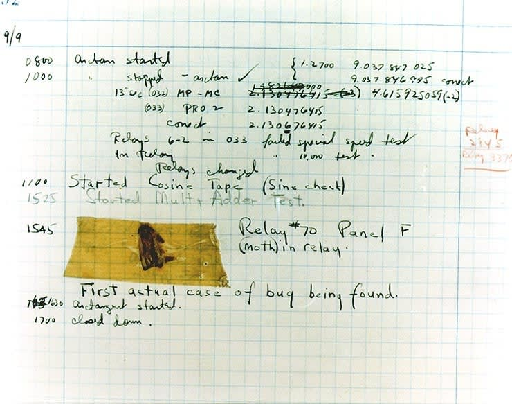 Grace Hopper journal