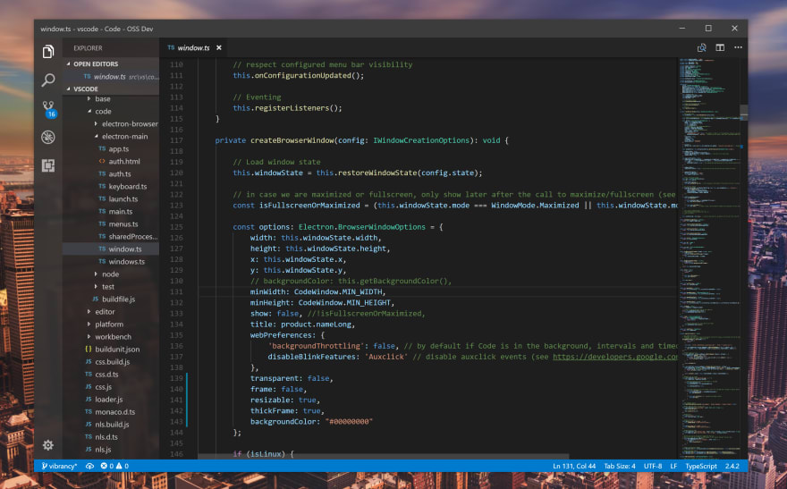 VSCode on Windows