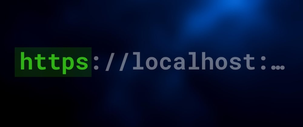 Cover image for [Vite] Enabling https on localhost
