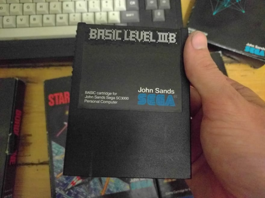 SEGA SC-3000 BASIC cartridge