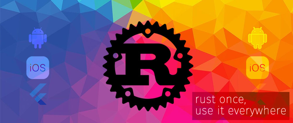 Cover image for Rust once and share it with Android, iOS and Flutter