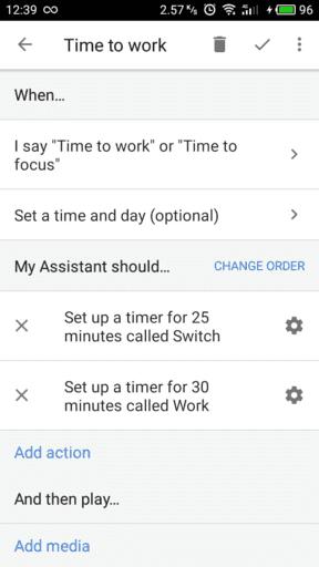 'Timer routine'