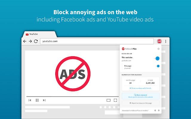 Adblock Plus Chrome Extension