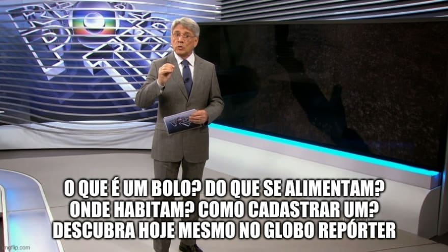 Globo reporter