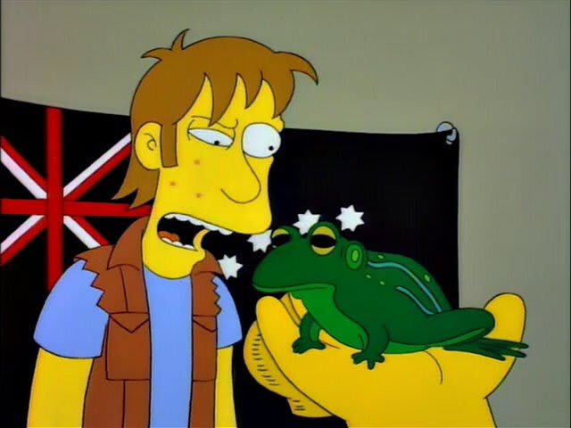 Bullfrog? I'd have called it a Chazwazza