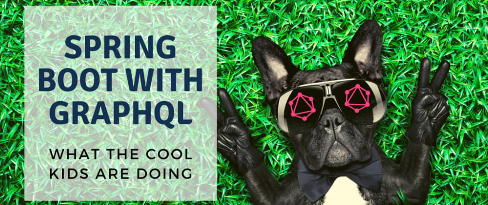 Cover image for Spring Boot With GraphQL: What The Cool Kids Are Doing