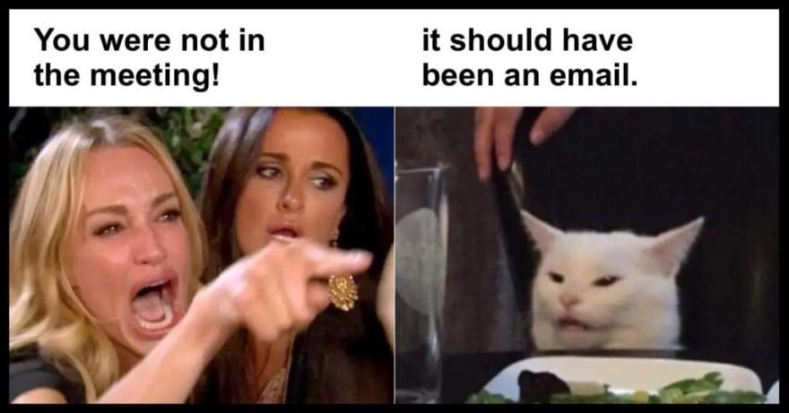 meeting email meme