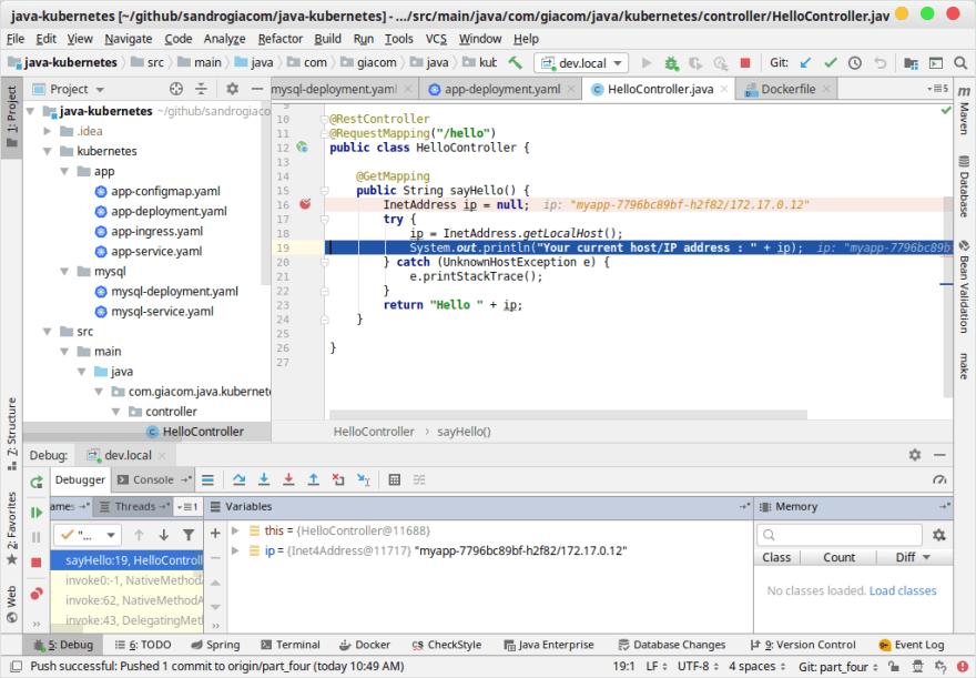 Kubernetes for Java Developers - Debug Application - DEV Community