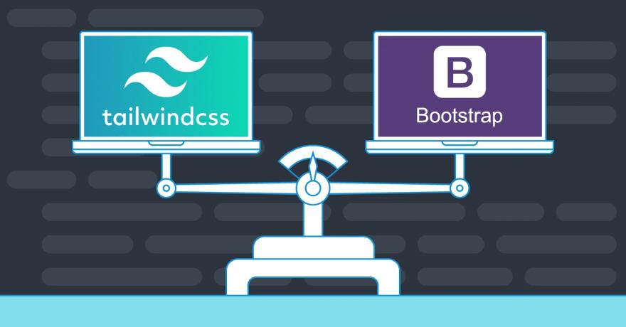 ¿Qué diferencias existen entre el framework de Boostrap y el framework de Tailwind CSS?