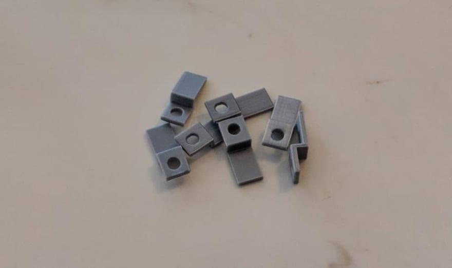 7 3D printed brackets