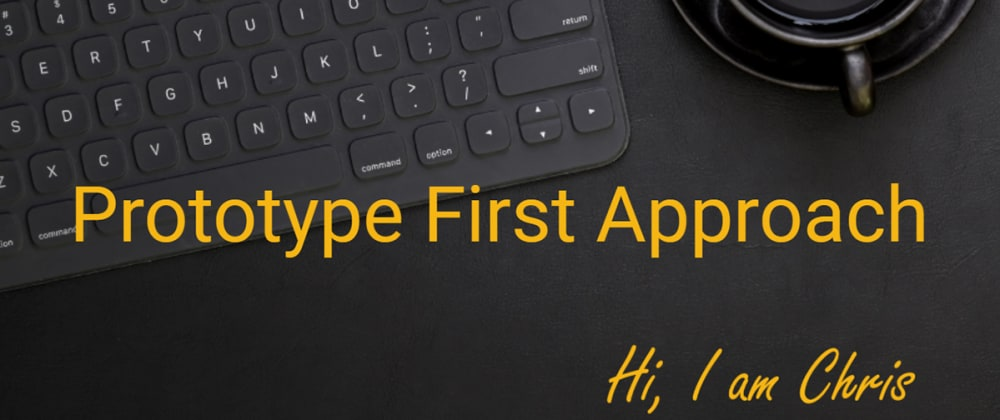 Cover image for Prototype first approach