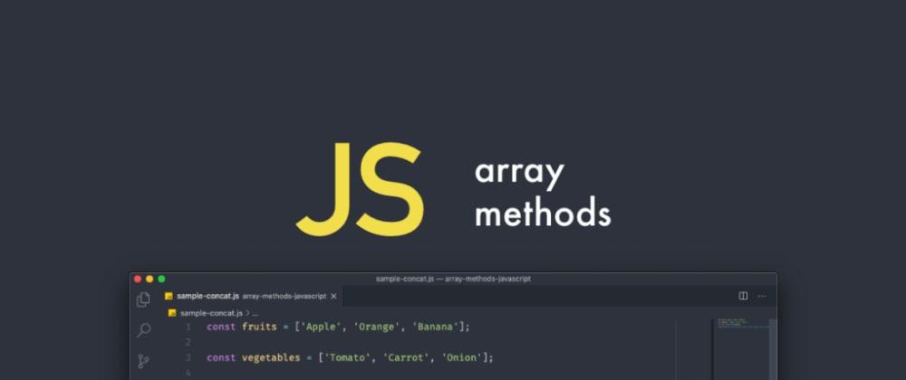 Cover image for Métodos básicos de array