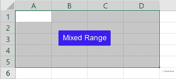 Mixed Range