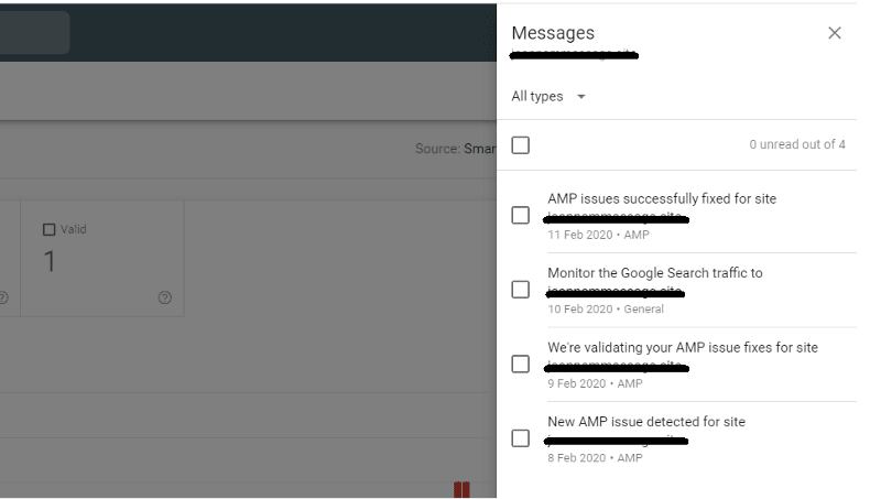 Google Messages for AMP
